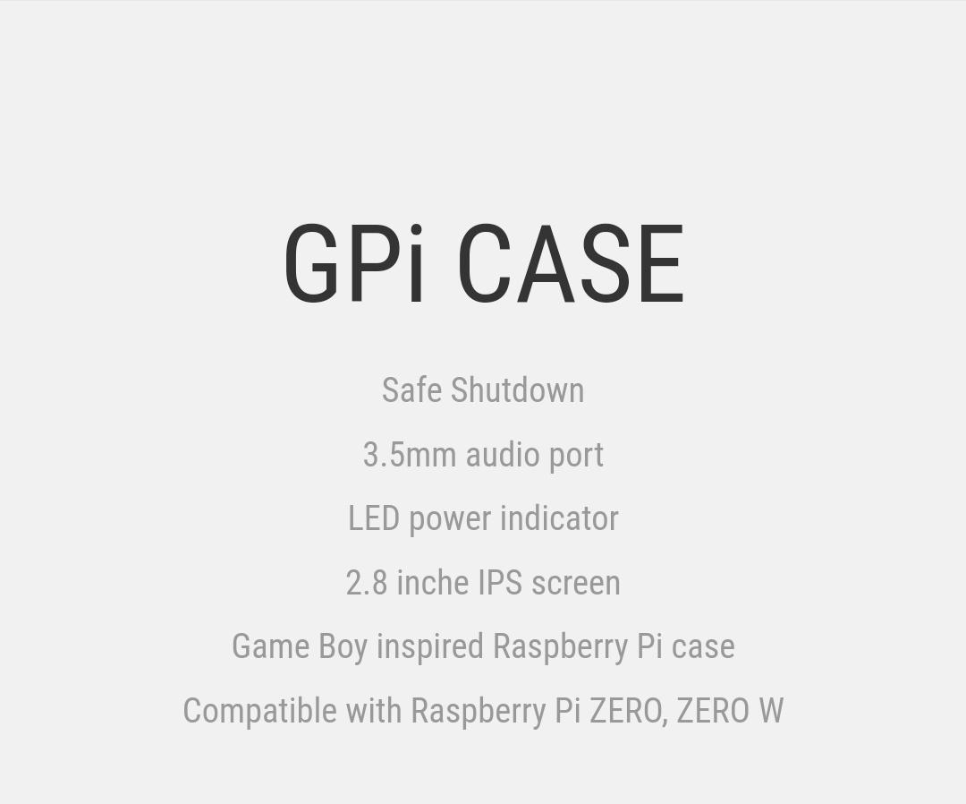 Gpi - Case - RetroFlag - Belchine - 1