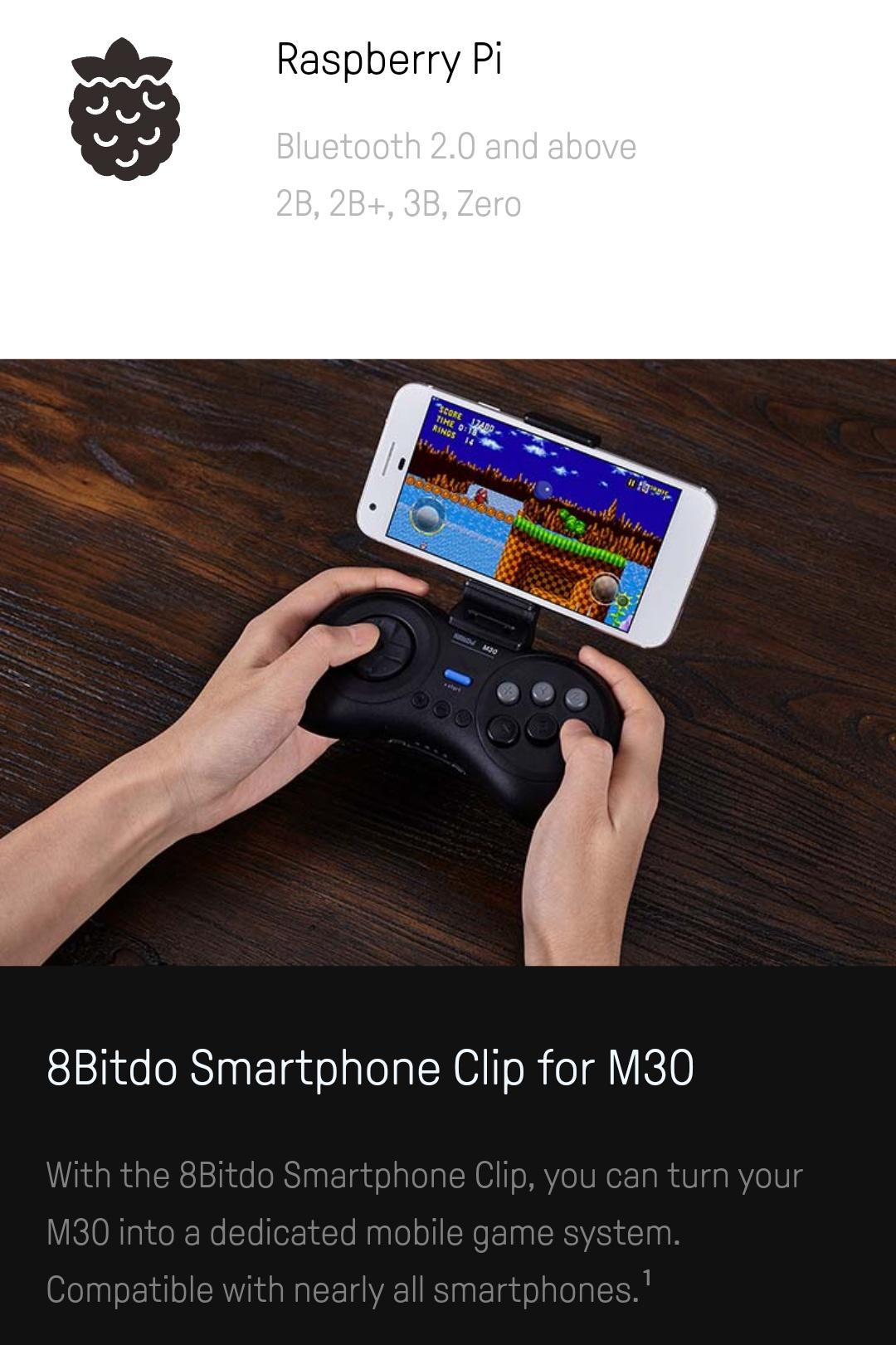 8Bitdo M30 Bluetooth Belchine 4