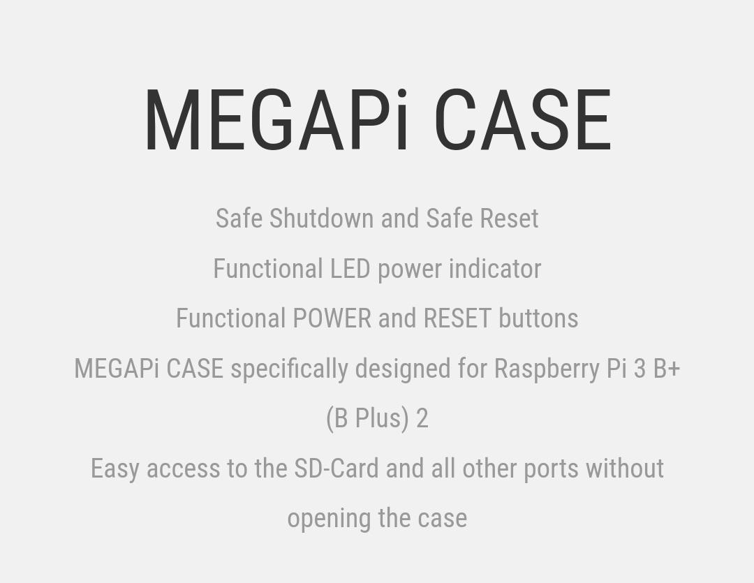 Retroflag MegaPi Case Belchine 1