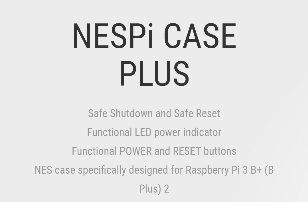 RetroFlag NesPi Case + Belchine 1