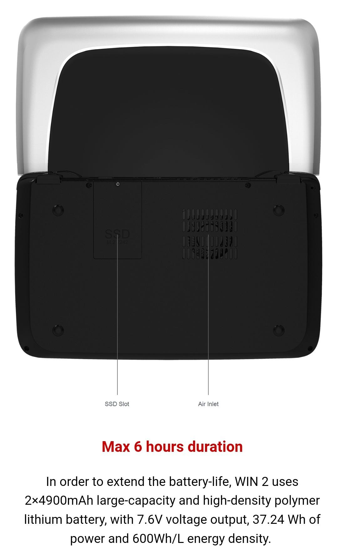 Gpd Win2 M3-8100Y Belchine 10
