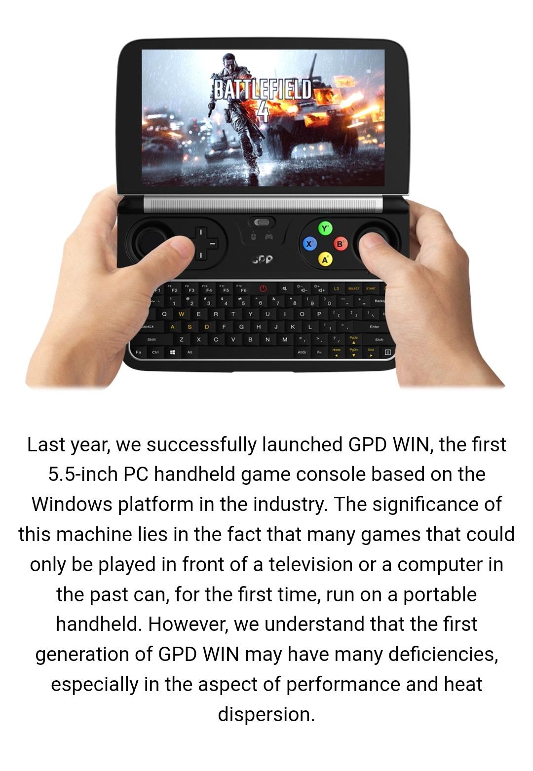 Gpd Win2 M3-8100Y Belchine 2