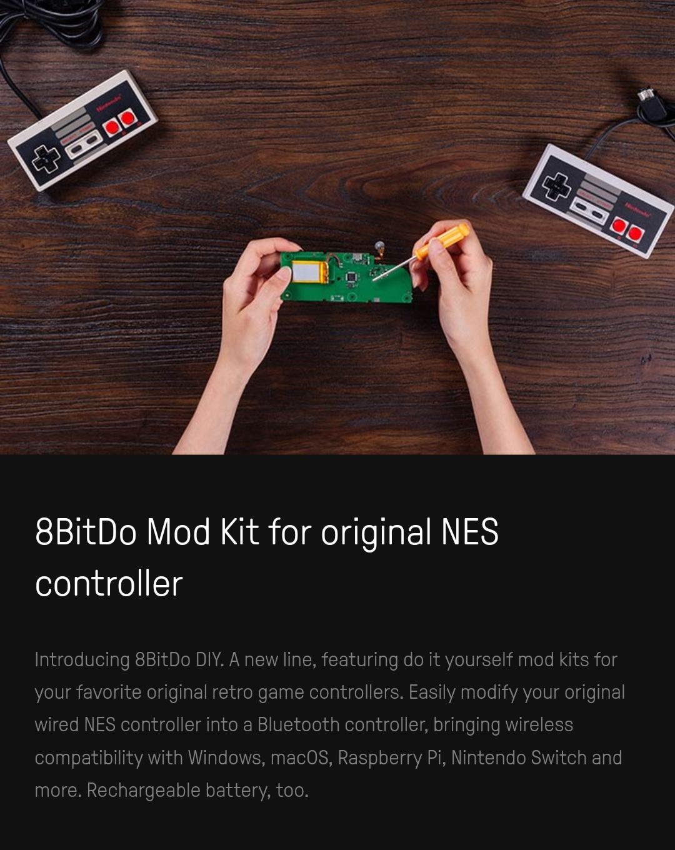 8Bitdo - Mod Kit Nes - Belchine 1