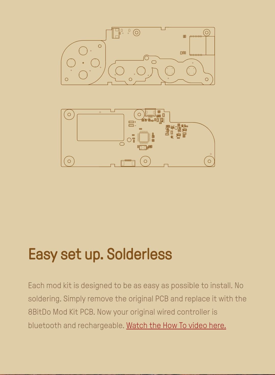 8Bitdo - Mod Kit Nes - Belchine 2