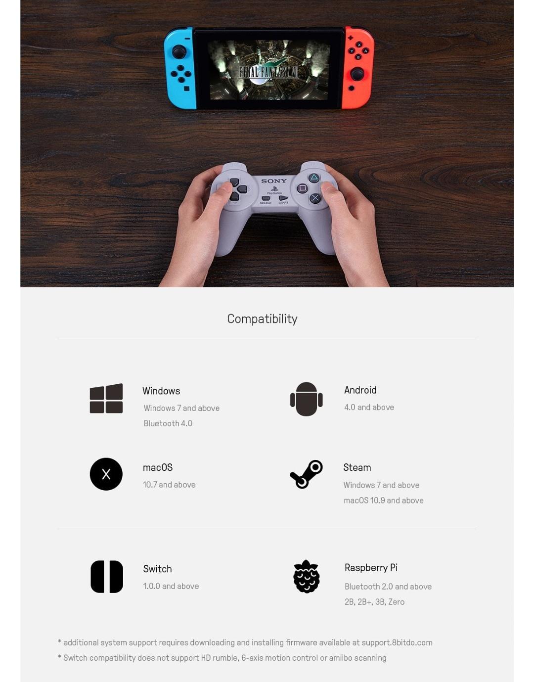 8Bitdo-Diy-Mod Kit-Playstation-Classic-Belchine-4