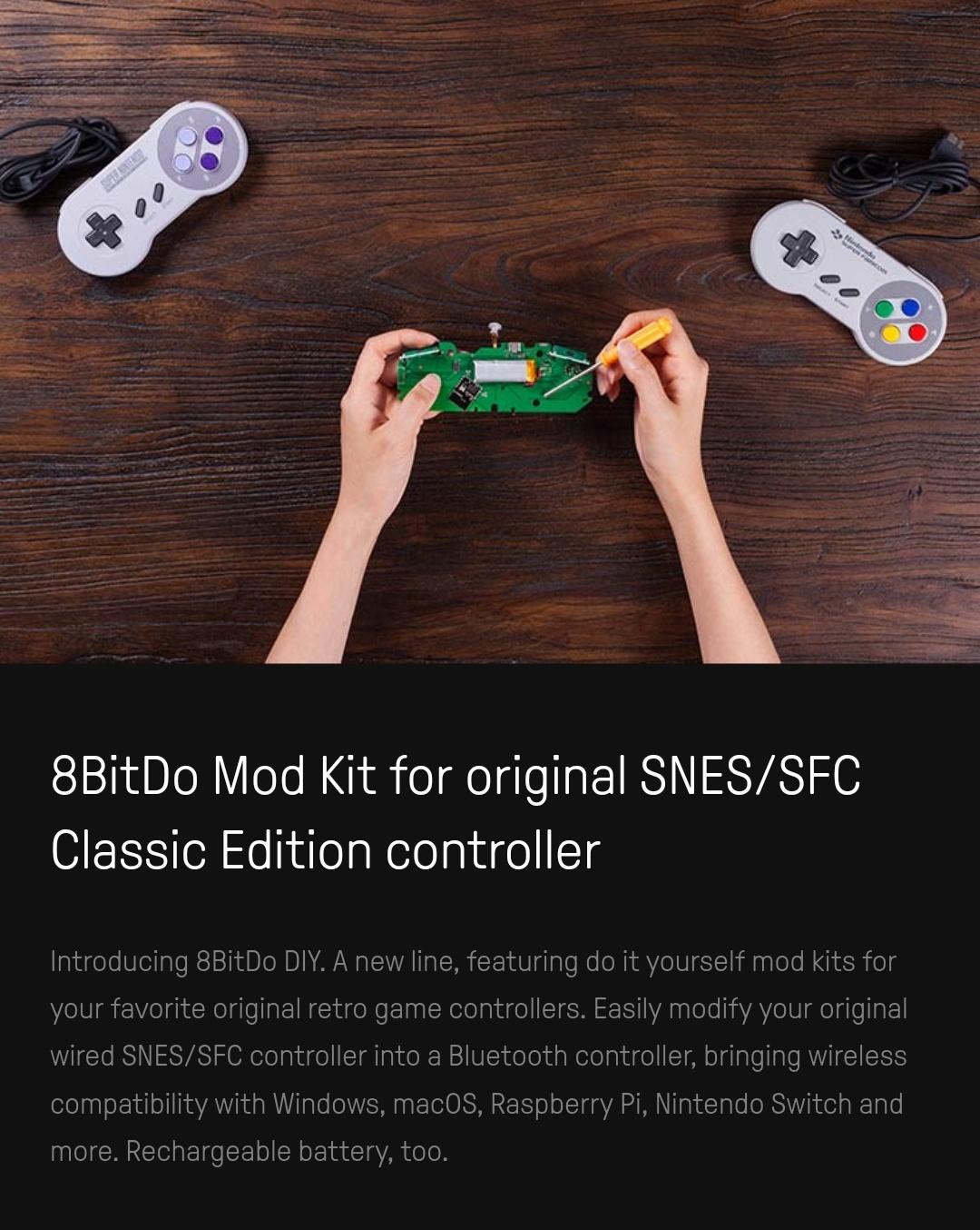 8Bitdo - Diy - Mod Kit - Snes - Belchine - 1