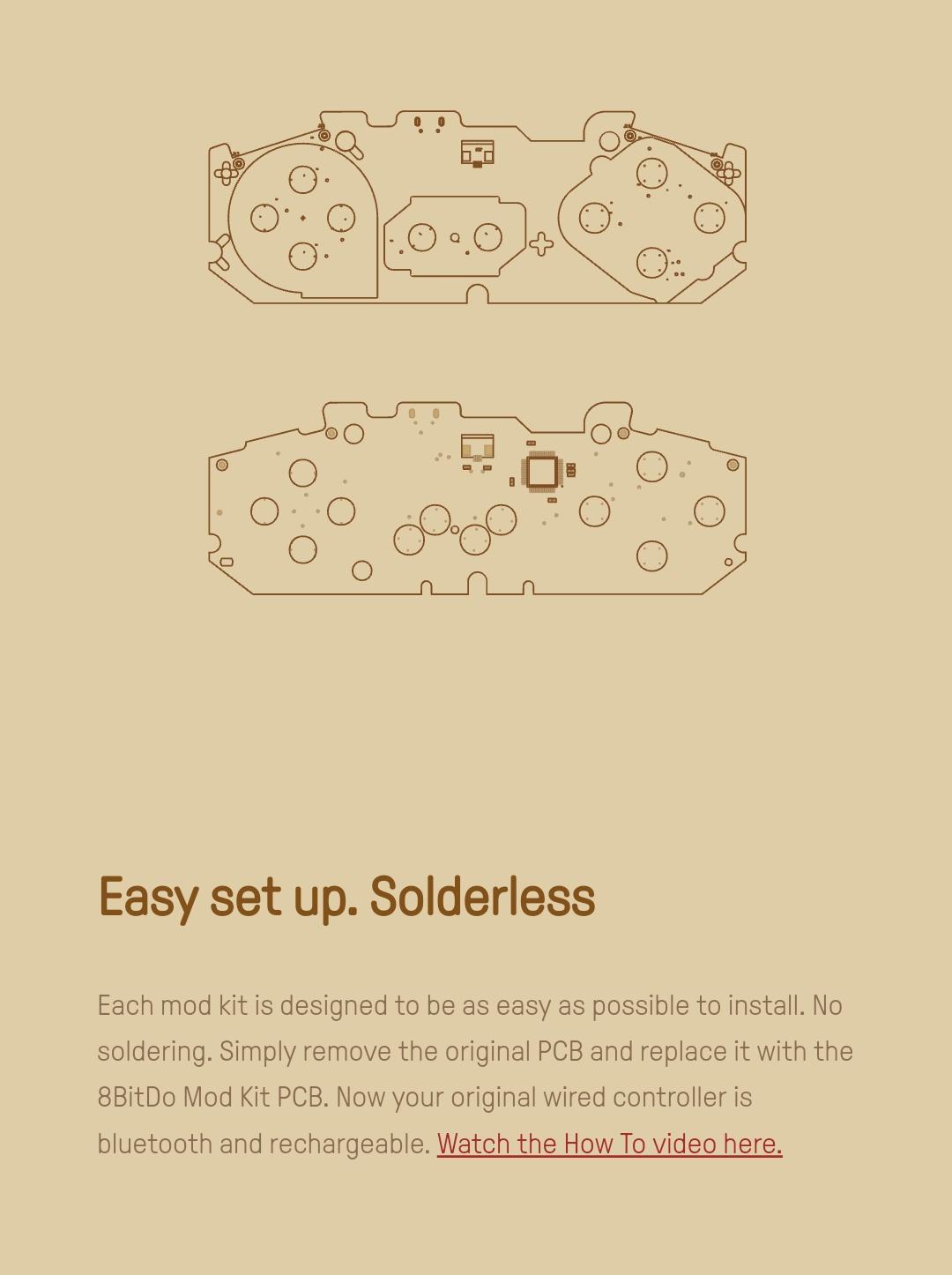 8Bitdo - Diy - Mod Kit - Snes - Belchine - 3