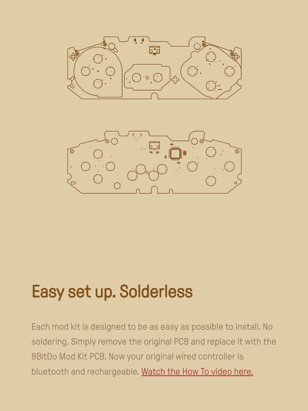 8Bitdo - Diy - Mod Kit - Snes - Belchine - 2