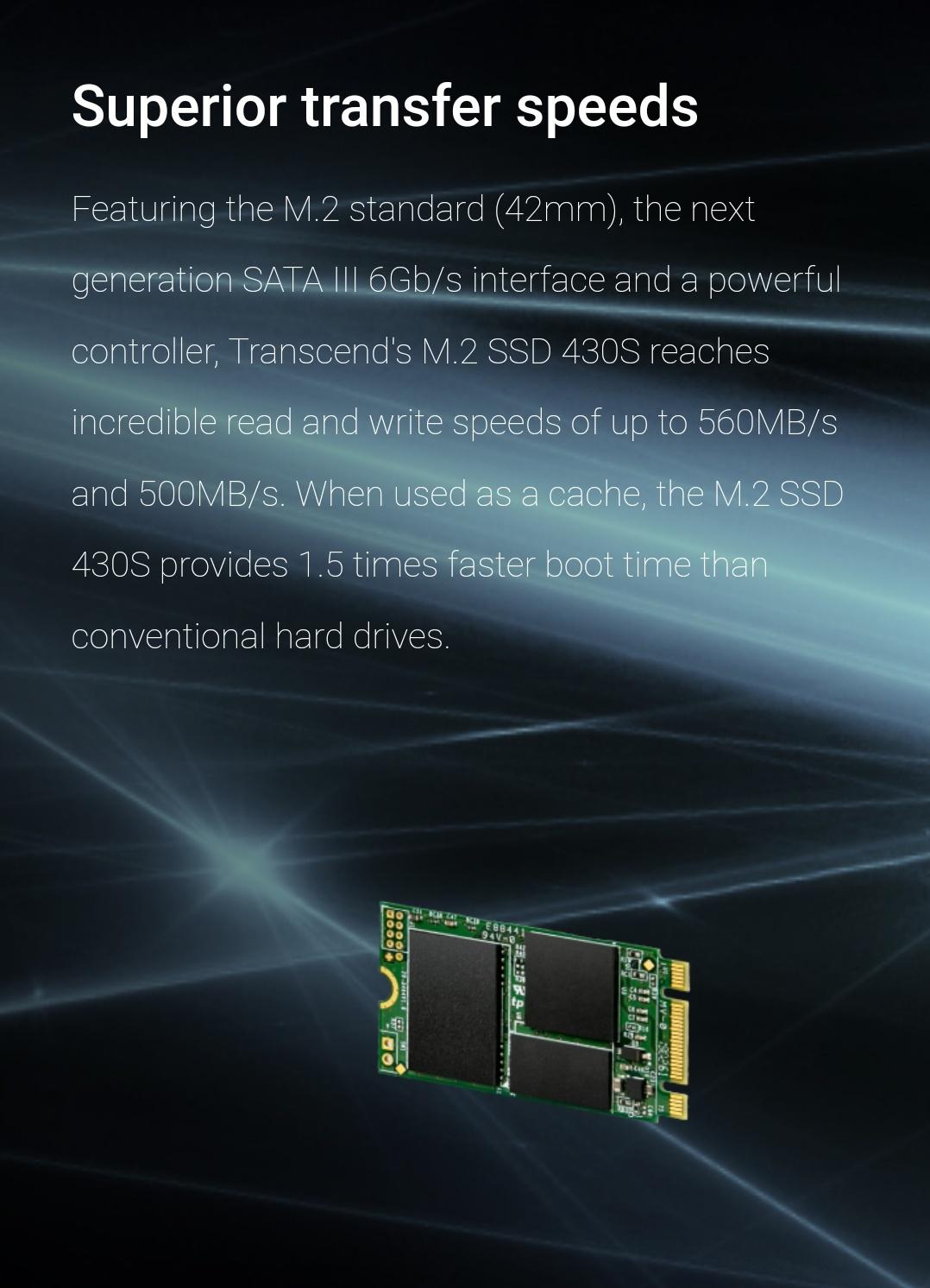 Transcend 512Go - M.2 SSD 430S - Belchine - 4
