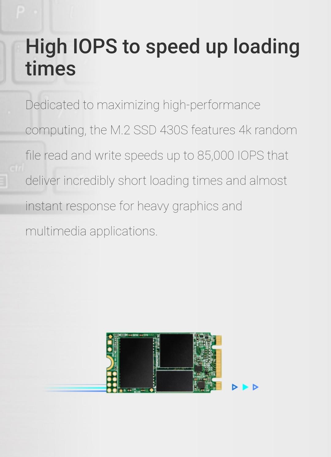 Transcend 512Go - M.2 SSD 430S - Belchine - 5
